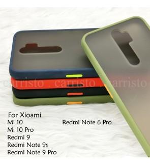 Xioami Mi 10 Pro Redmi Note 9S Note 9 Pro Note 6 Pro Redmi 9 Phantom Series Back Casing Cover Case Colorful Housing