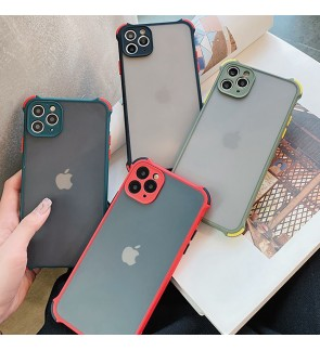 Realme 5 Pro Realme C11 C12 Phantom Shockproof Protection Case Housing Silicone Hard Back Cover Casing Camera Protect