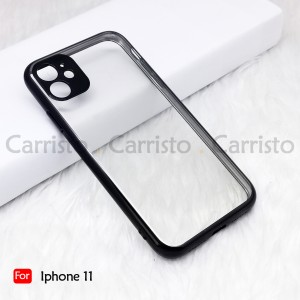Iphone X XR XS Max Iphone 11 Pro Max Electroplate Ver 4 Crystal Transparent Case Cover TPU Soft Lens Protection Casing