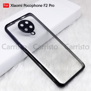 Xioami Mi 10 Pro Pocophone Poco F2 Pro Redmi Note 8 Pro Electroplate Ver 4 Transparent Case Cover TPU Soft Lens Casing