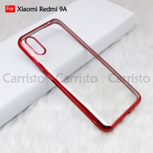 Xioami Redmi Note 9 Pro 9S Redmi 9 9A Mi 9T Pro Electroplate Ver 4 Transparent Case Cover TPU Soft Len Protection Casing