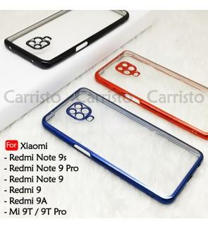 Xioami Redmi Note 9 Pro 9S Redmi 9 9A Mi 9T Pro Electroplate Ver 4 Transparent Case Cover TPU Soft Len Protection Casing