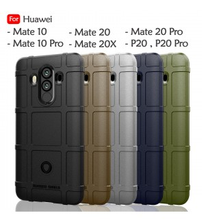 Huawei Mate 10 Pro Mate 20 Pro Mate 20X P20 P20 Pro Rugged Shield Thick TPU Shockproof Case Cover Airbag Casing Housing