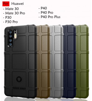 Huawei Mate 30 Pro P30 P30 Pro P40 Pro Plus Rugged Shield Thick TPU Shockproof Case Cover Airbag Casing Housing