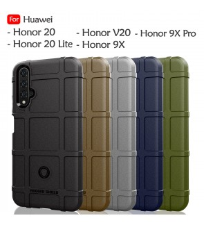 Huawei Honor 20 Lite Honor 9X 9X Pro Honor V20 Rugged Shield Thick TPU Shockproof Case Cover Airbag Casing Housing